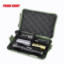 1Set Cycling Bike Head Front Light Bicycle Light X800 XM-L T6 LED Tactical Zoomable Flashlight Torch Light Lamp+18650 + Charger