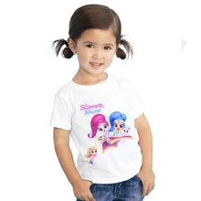 2017 1-12 years baby Girl t-shirt big Girls tees shirts children blouse big sale super quality Cute cotton kids summer clothes