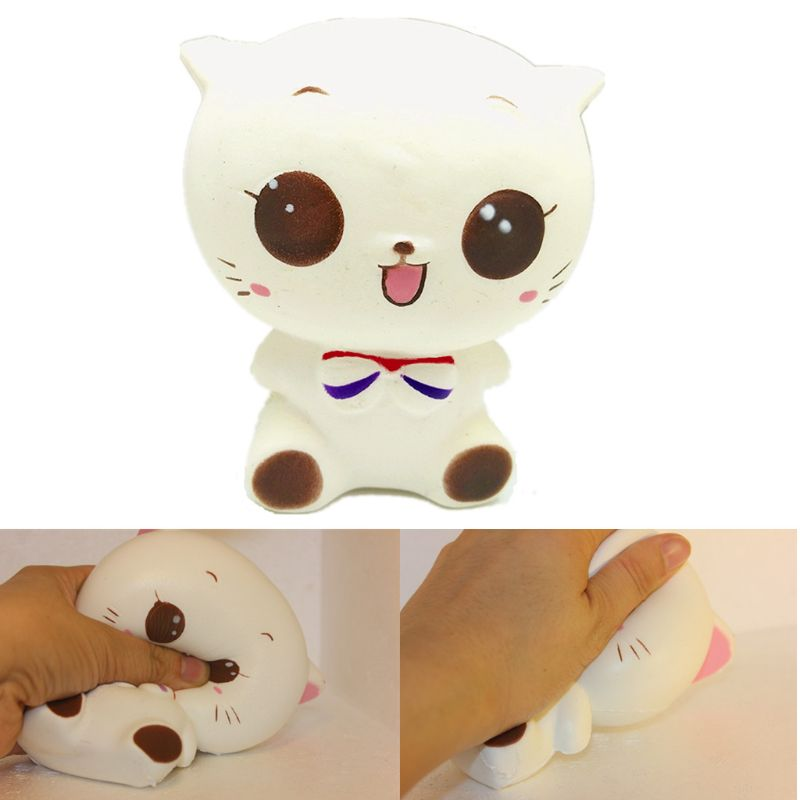 Jumbo Squishy Princess Cat Squishy Cat Slow Rising Stress Relieves Scented Gift