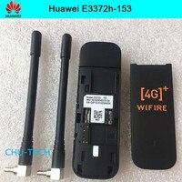 Unlocked Huawei E3372 E3372h 153 with antenna 4G LTE Dongle Mobile Broadband USB Modems 4G Modem LTE Modem