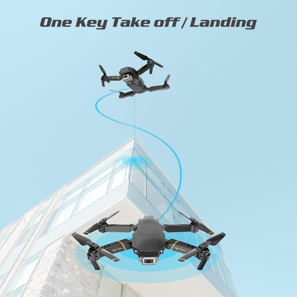 Drone Global EXA professionnel Quadrocopter avec caméra HD 1080P hélicoptère RC FPV Drones flux optique Selfie Dron VS E58 E520 - 2