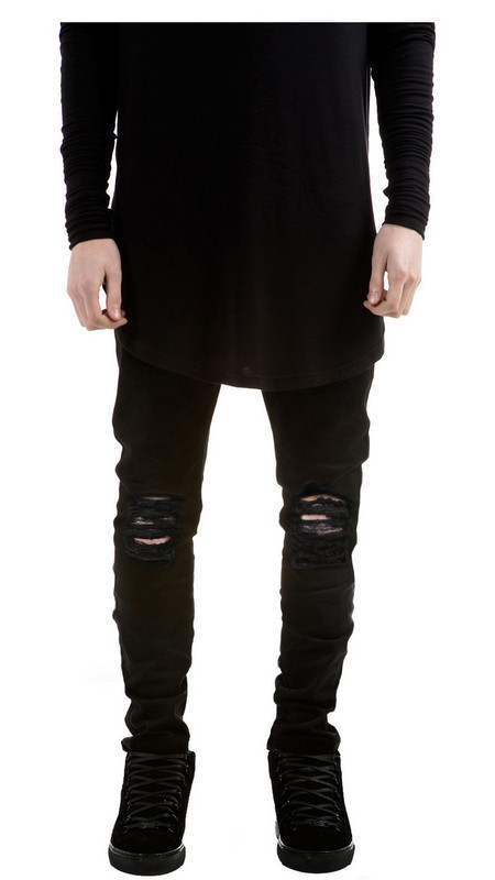 Men's designer black jeans – Global fashion jeans collection