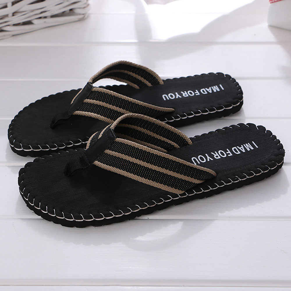 a50b7f77e98 ... Men s Slippers Summer Non-slip Massage Shoes Sandals Male Slipper  Indoor Outdoor Flip Flops High quality Soft Beach shoes. -14%. Click to  enlarge