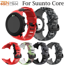 outdoor sport Wrist band for Sunnto core silicone Strap Replacement watchstrap wristband Bracelet Accessories