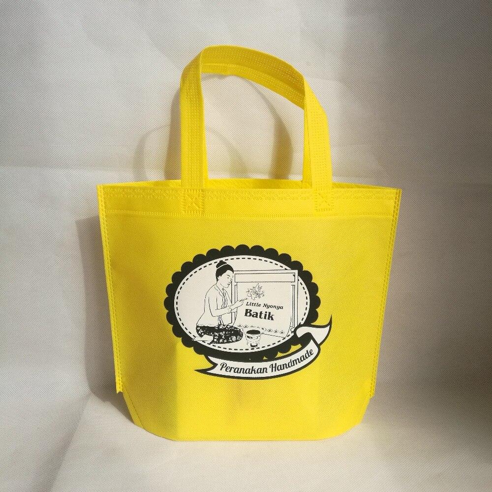 500 teile/los Heißer Verkauf individuelles logo reusable Non Woven stoff Einkaufstasche/Einkaufstasche/Recycelbar geschenk taschen für kleidung/bademode/geschenke-in Einkaufstaschen aus Gepäck & Taschen bei  Gruppe 2