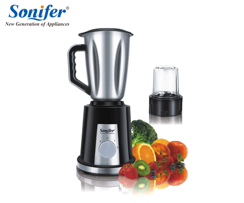 Multifunction electric food blender mixer kitchen glass stainless steel standing blender vegetable Meat Grinder Sonifer fast food leisure fast food equipment stainless steel gas fryer 3l spanish churro maker machine