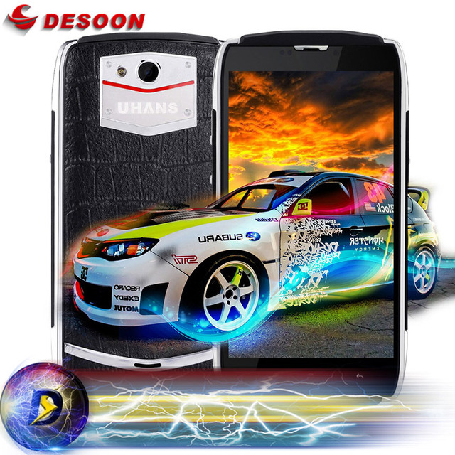 Original UHANS U200 Phone Android 5.1 64bit MTK6735 Quad Core 4G FDD-LTE Mobile phone 13.0MP Miracast Business Phone