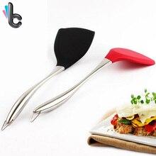 Silicone Non-stick Shovel Spatula Nylon Spatulas For Saupan Wok Fryfing Pan Cooking Tool kitchen Accessories