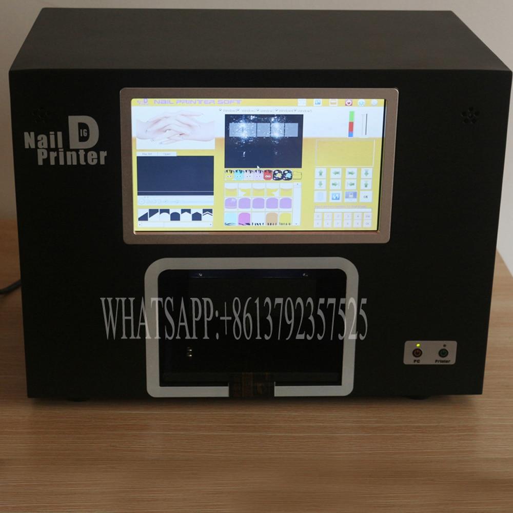 Gratis Pengiriman 2019 Baru Penjualan Panas Nyata Mesin Printer Kuku - Nail art - Foto 3