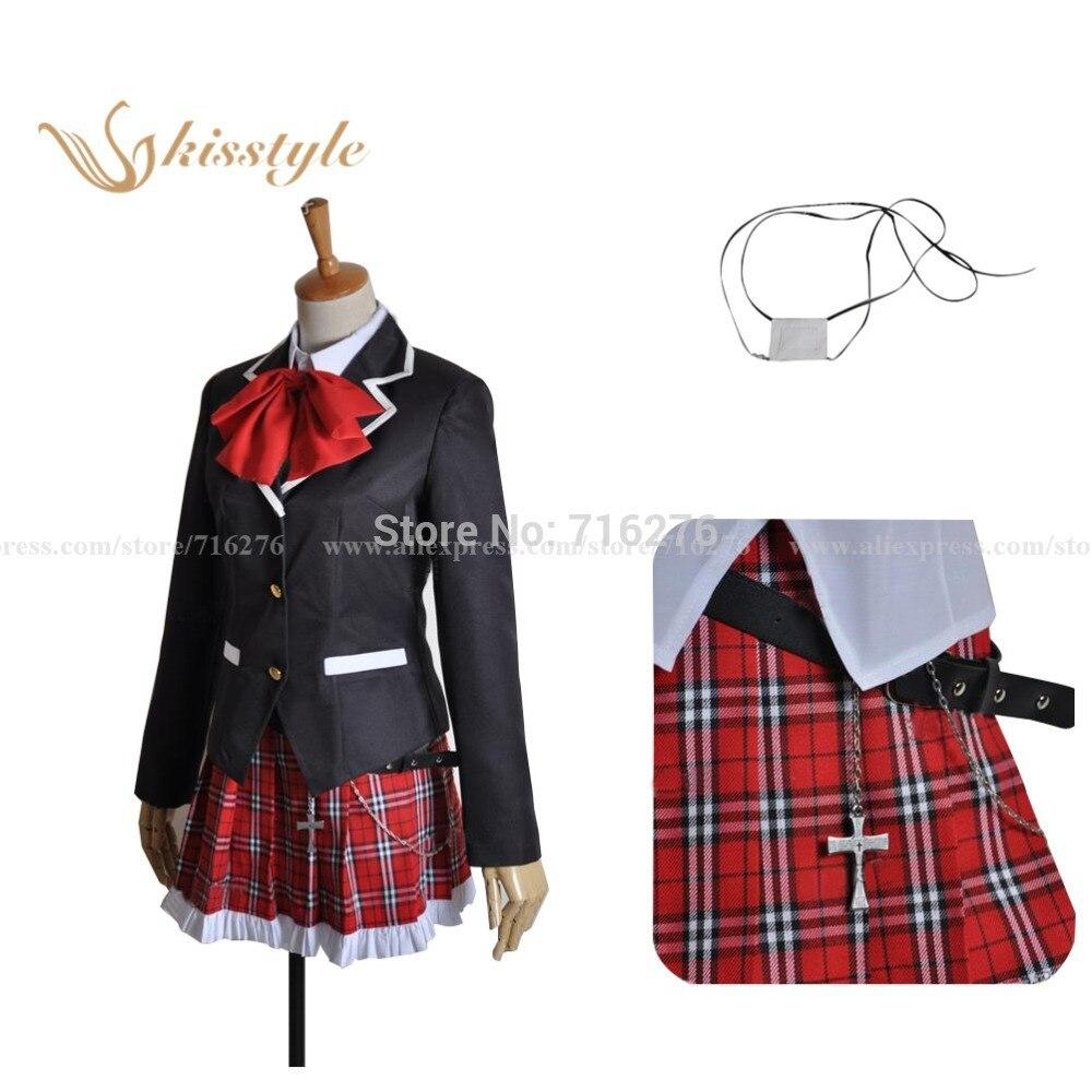 Chuunibyou Demo Koi ga Shitai! Takanashi Rikka Uniform Cosplay Costume,Customized accepted