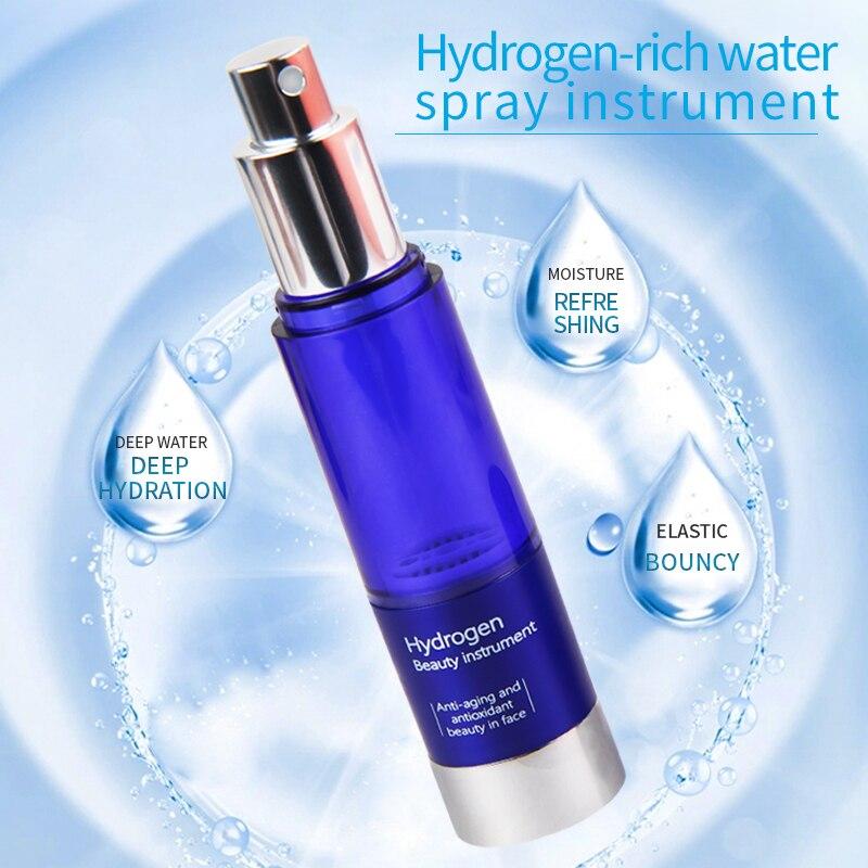 Titanium Hydrogen Water Generator Water Lonizer Anti-aging Beauty Spray Nano-hydration Water Anti-oxidation Mist Sprayer