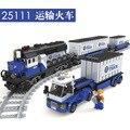 1008 unids Trenes Modelo Ladrillos de Construcción Bloques de Construcción de Montaje De Bloques de Juguete para Niños de Navidad Juguetes brinquedos leping