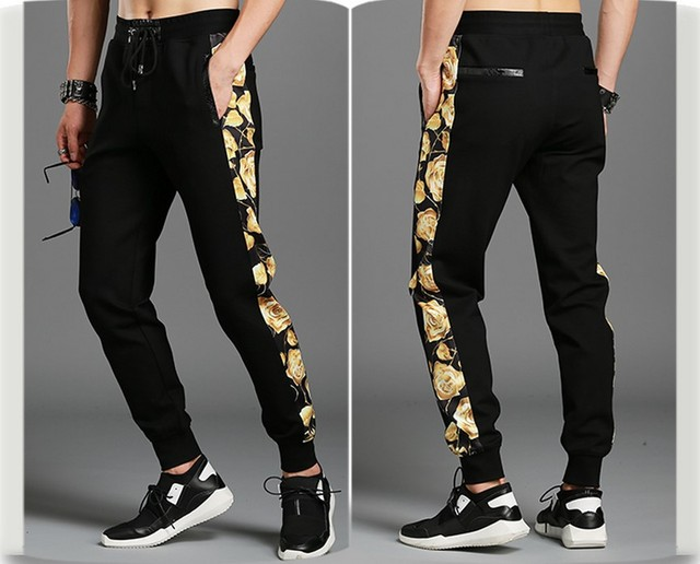 hot sale new fashion design brand casual Pants men hip hop streetwear cotton Pants