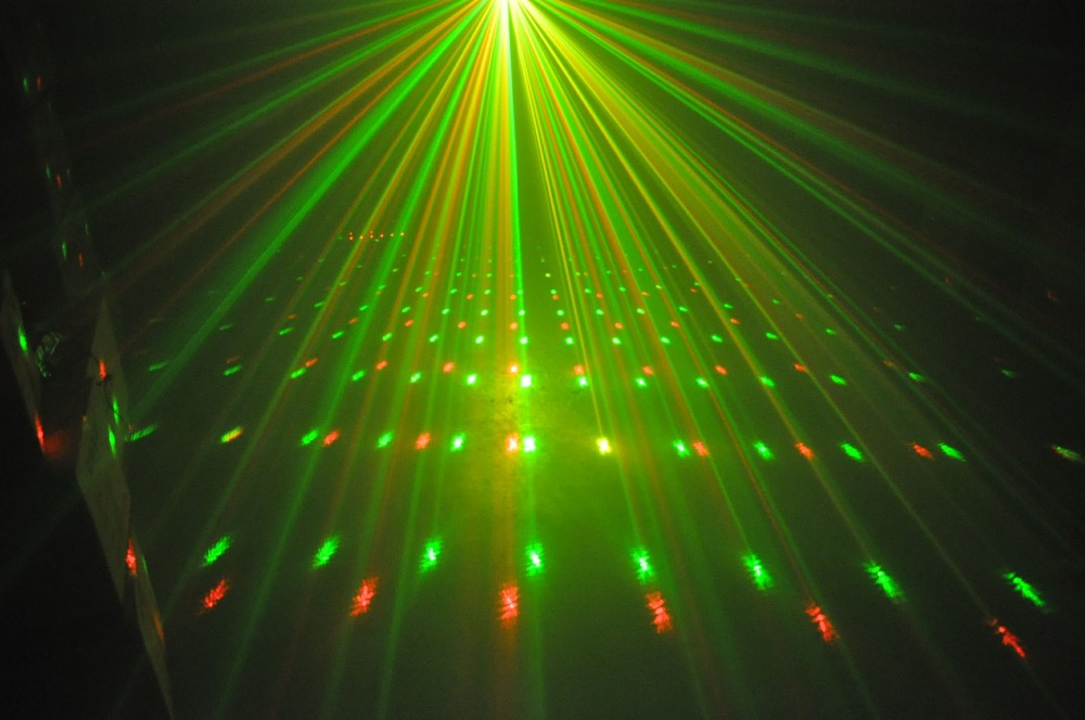 Christmas present Mini Laser light show Christmas light Decorations Laser Disco Lights party Lights