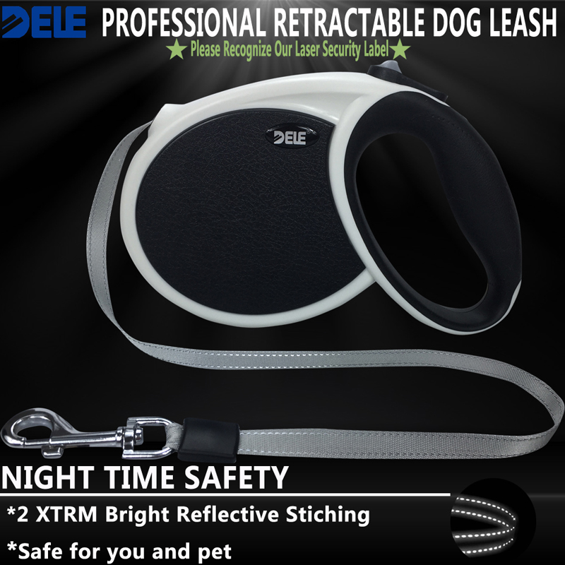 High Quality Dogs Leash Automatic Retractable Pet Leash For Big Dogs Universal Remote Control With Super Flat Belt 5M 7M WhiteHigh Quality Dogs Leash Automatic Retractable Pet Leash For Big Dogs Universal Remote Control With Super Flat Belt 5M 7M White