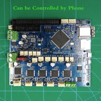 V1.04 Duet Wifi Upgrades Controller board DuetWifi 32bit Motherboard for BLV MGN CUBE 3D Printer w/ TF card