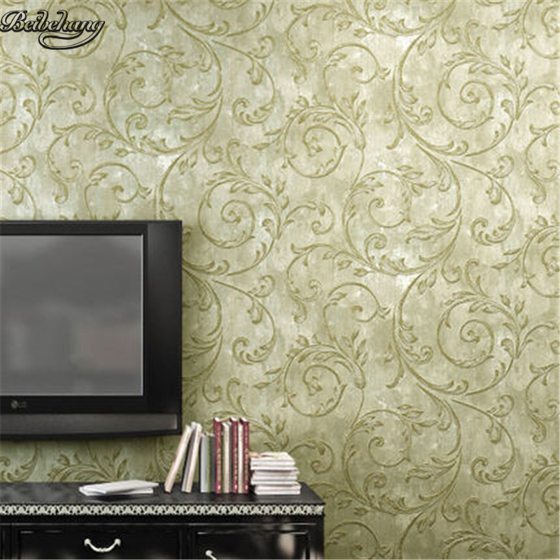 beibehang Pastoral Non - Woven Retro Warm Bedroom Living Room TV Background Wallpaper Countryside beibehang wall paper pune girl room cartoon children s room bedroom shop for environmental non woven wallpaper ocean mermaid