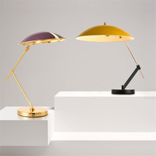 Modern Table Lamps for Living Room Art Study Desk Reading Lamp Clamp Loft Decor Dining Cafe Smart