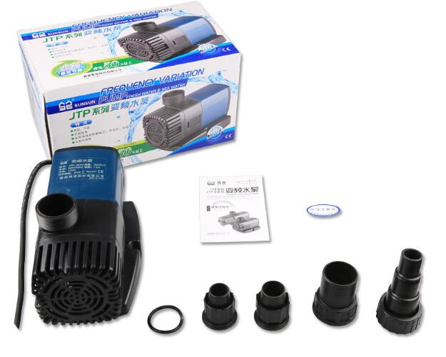 2000L/H Adjustable Water Pump Koi Fish Hydroponics Pond Submersible Circulation Pump Water Feature Rockery JTP2000 JTP 2000-in Filters & Accessories from Home & Garden    1
