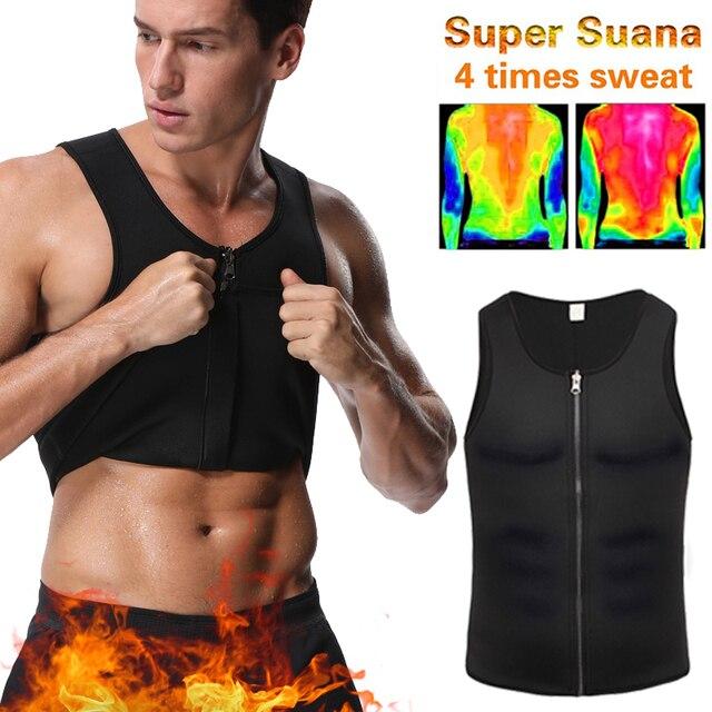Miss Moly Men Body Shaper Neoprene Shapers Promote Sweat Waist Trainer Tummy Slimming Shapewear Male Modeling Belt Losing weight
