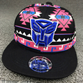 2016 New High Quality Transformers Baseball Cap Hat Hip Hop Hats Adult Adjustable  Embroidery Transformers Snapback Caps W313
