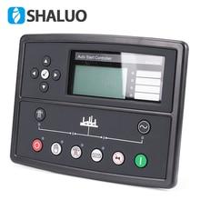 Светодиодный контроллер генератора 7320 генераторной установки, запчасти генератора, панель управления, ЖК-дисплей, автоматический запуск, дистанционный электронный контроллер