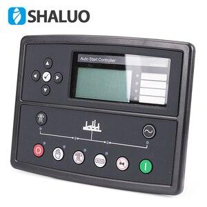 Image 1 - Generatore di controller led 7320 parti genset alternatore scheda di controllo del display lcd del pannello di avvio automatico regolatore elettronico a distanza