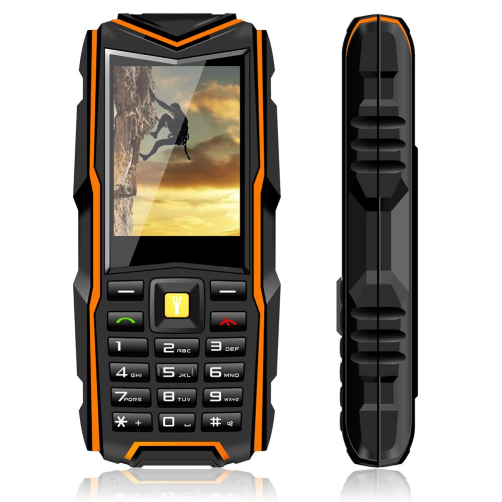 VKworld Stone V3 Waterproof IP67 Rugged 5200mAh Mobile Phone for Seniors elderly Dual SIM Cell Phones