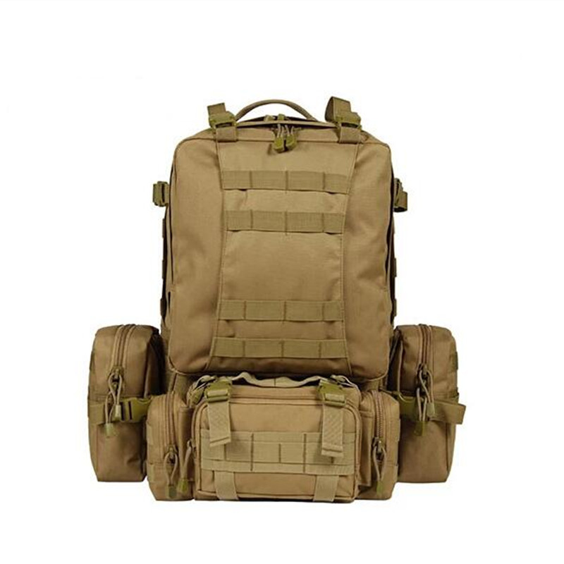 2017 New Assault Backpack Men Camuuflage Bag Camouflage Combination Backpack Mountaineering Shoulders Backpack woodland camo unisex tactical assault backpack camping travel bag multicam combination mountaineering shoulders backpack