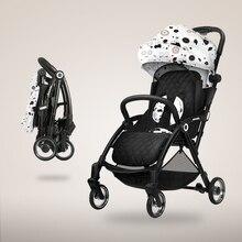 70a081bdf Cochecito de bebé es ultra luz y puede sentarse descanso de invierno y verano  paraguas plegable