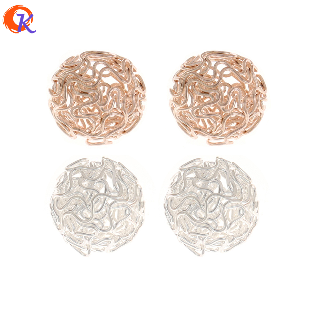 Cordial Design 50Pcs/Lot 20MM Earring Findings/Earring Making/Hand Made/Ball Shape/Earring Base Parts/Jewelry Accessories