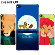 L201 Lion King Soft TPU Silicone  Case Cover For Huawei P8 P9 P10 Lite Plus 2017 Honor 8 Lite Pro 9 5C 6X