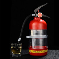 Large Bar Accessories Fire extinguisher Beer Dispenser Drinking Pump Machine Family Beverage Water Juice Dispenser For Party