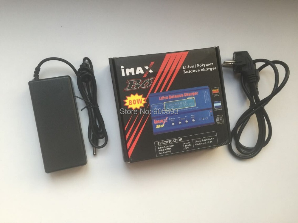 IMax B6 Digital LCD RC Lipo NiMh Battery Balance Charger FOR RC Heli RC Car Battery hot sale imax b6 ac b6ac lipo 1s 6s nimh 3s rc battery balance charger for rc toys models