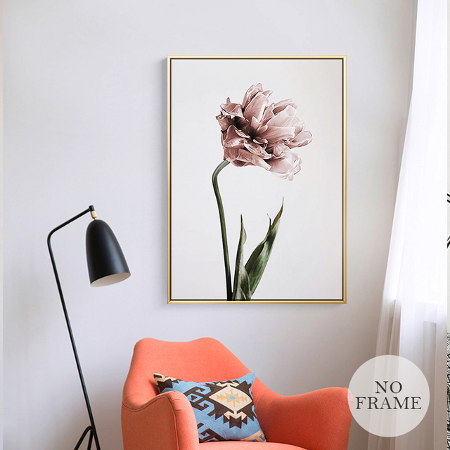 Flowers Poster Canvas Painting 2