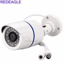 REDEAGLE 1MP 720P AHD Security Camera with 2MP 3.6mm HD Lens 24pcs IR Night Vision Outdoor Bullet Security Cameras For AHD DVR