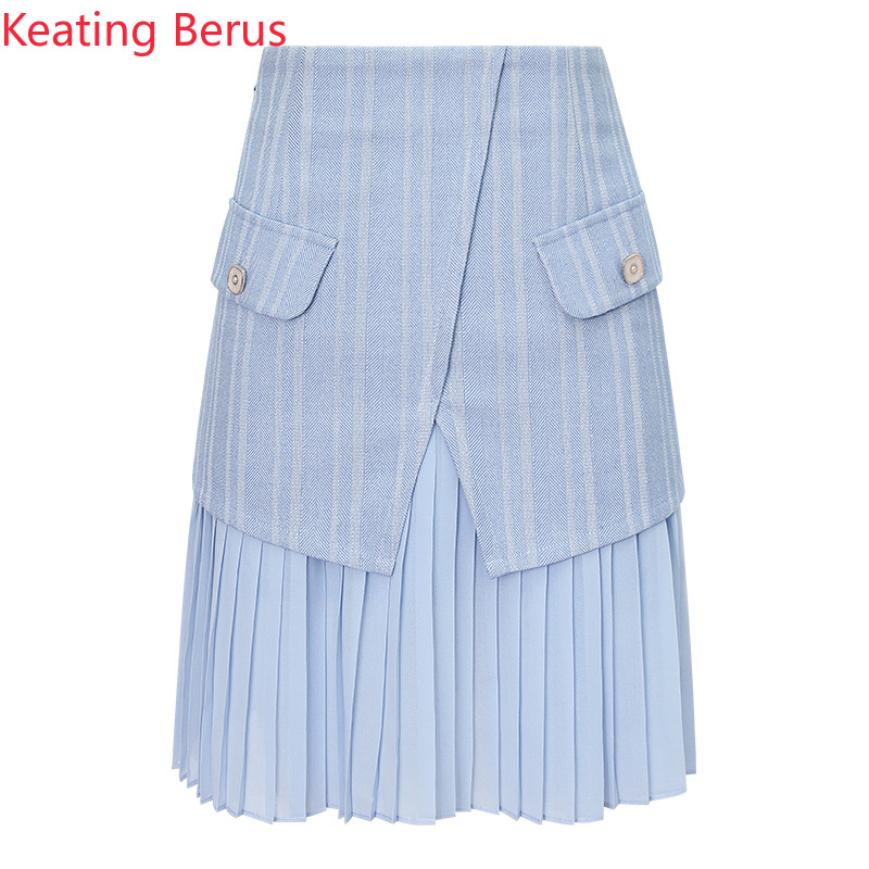 Keatingberus 2019 Spring New Light Blue Women