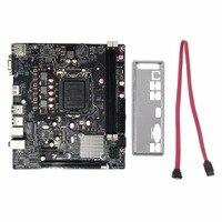Professional H61 Desktop Computer Mainboard Motherboard 1155 Pin CPU Interface Upgrade USB3 0 DDR3 1600 1333