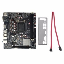 лучшая цена Professional H61 Desktop Computer Mainboard Motherboard 1155 Pin CPU Interface Upgrade USB3.0 DDR3 1600/1333
