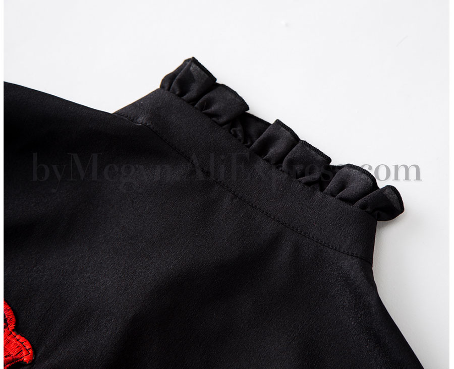 size ruffle sleeve By 13
