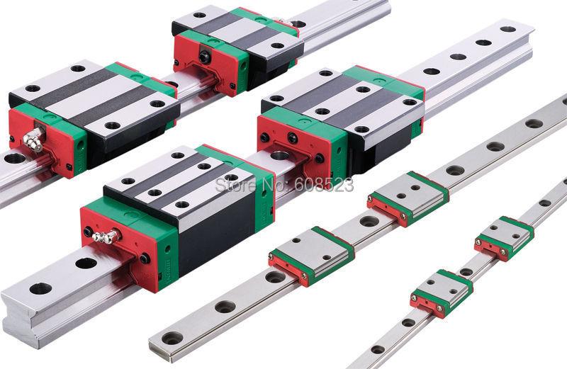 100%12pcs Square Linear guide sets + 4 x SFU1605-700/1000/1000mm Ballscrew sets + 3BK BF12 +3 jaw Flexible Coupling Plum Coupler