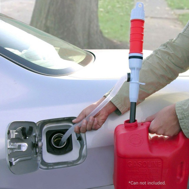 JUSTAUTO from US Water Pump Outdoor Car Auto Vehicle Fuel Gas Suction Pumps Transfer