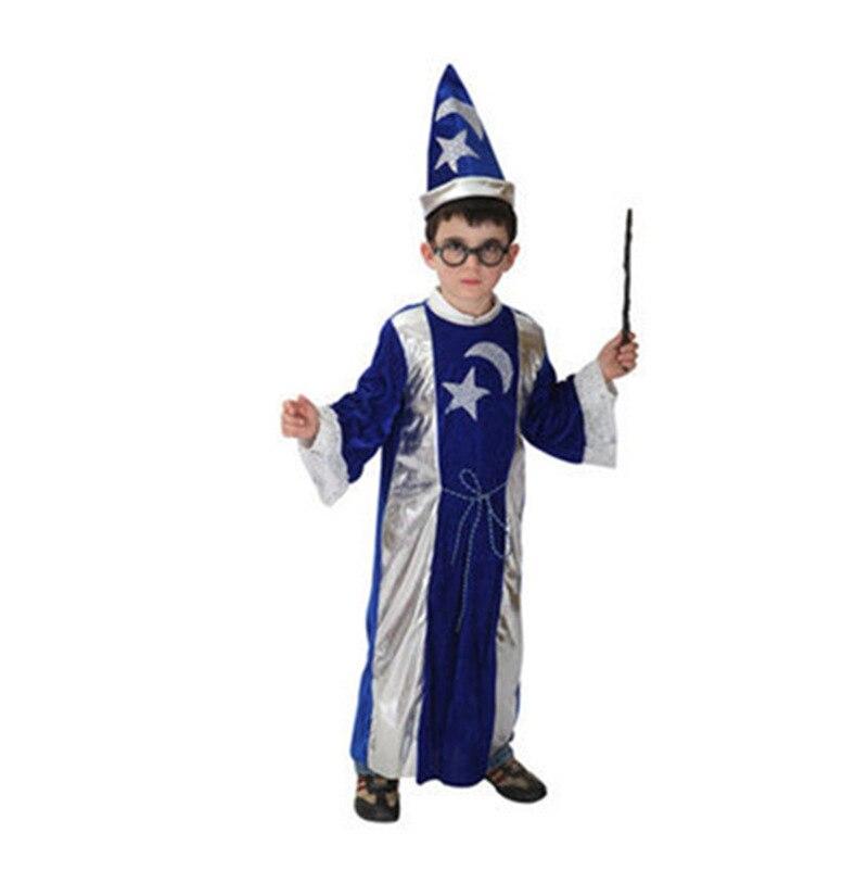 New Design Witch Costume Cloak Halloween Creative Cosplay Costume Halloween Witch For Baby Halloween Girl Gifts Children