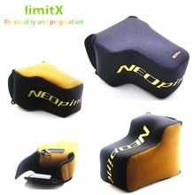 Taşınabilir kamera çantası neopren yumuşak kılıf kapak için Nikon P1000 dijital fotoğraf makineleri