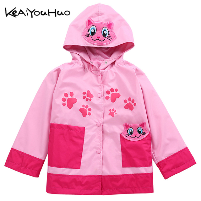 5c2e1fef9575 KEAIYOUHUO Spring Autumn Hooded Waterproof Kids Boys Outerwear Coat ...