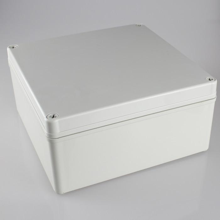 цена на 200*200*95MM IP67 Waterproof Plastic Electronic Project Box w/ Fix Hanger Plastic Waterproof Enclosure Box Housing Meter Box
