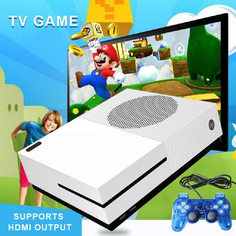 Мини ТВ Ретро Видео игровой консоли 4 ГБ встроенный 600/621 классической игры Поддержка HD HDMI для FC/GBA/ SNES/SMD с 1000 + игры