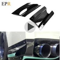Car Accessories R35 GTR Rear Under Skirt Side Air Shroud CF For Nissan 2013 VER VRS Air Shroud Carbon Fiber Car Styling Body Kit