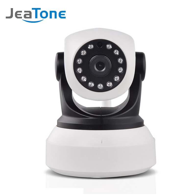 JeaTone HD IP Camera WiFi Wireless Home Security Camera Surveillance Indoor Camera 720P Night Vision CCTV Camera Wi-Fi IP P2P hiseeu hd 720p wireless ip camera wifi night vision wi fi camera high quality ip network camera cctv wifi p2p security camera