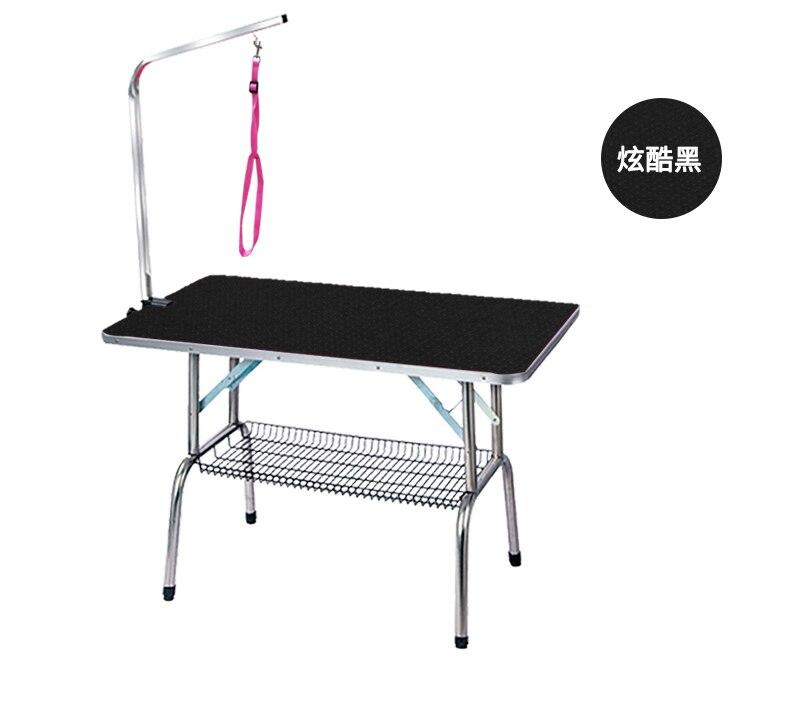 Дешевый складной стол для ухода за домашними животными из нержавеющей стали для маленьких питомцев, портативный Рабочий стол, резиновая по... - 6